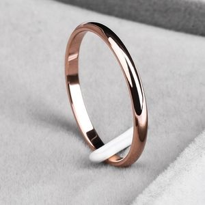titanium steel band ring